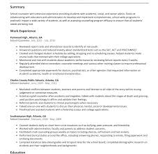 Counseling Psychologist Sample Resume Resume Template Drug And Alcohol Counselor Social Services 83
