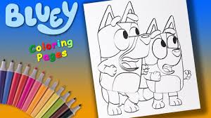 Then grab those crayons and pencils and get your disney family coloring! Bluey Disney Junior Uk Coloring Book For Kids Bluey And Bingo Coloring Pages For Children Youtube