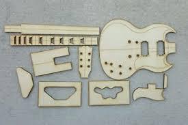 Sg Template Sg Guitar Template Set Ebay