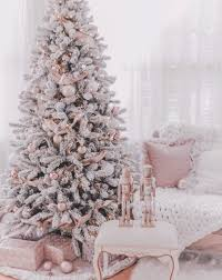 Rose Gold Elegant Christmas Background