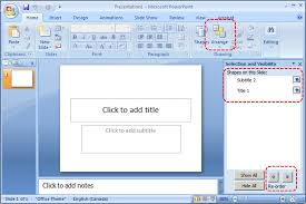 Theme For Powerpoint 2007 Authoring Techniques For Accessible Office Documents