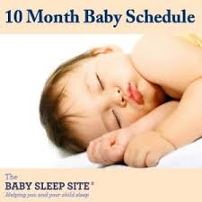 Baby Milestones 10 Months Chart 10 Month Old Baby Schedule Sample Schedules The Baby