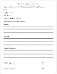 employee notes template employee coaching template templates