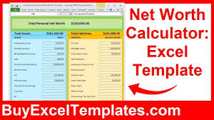 Net Worth Calculator Net Worth Calculator Excel Spreadsheet How To Calculate