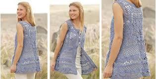 Free Crochet Vest Patterns Beauteous Forever Lace Crocheted Vest [FREE Crochet Pattern]