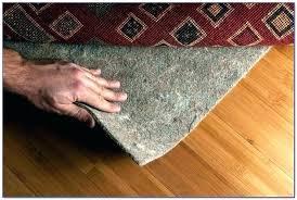 rug pad for tile floor hardwood padding premium pads floors area rugs white fo