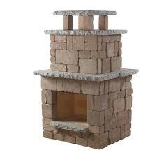 necessories desert compact outdoor fireplace