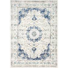 interesting rugs bathroom charming navy blue and white area rug 24 8 x 10 rugs the home depot throughout h
