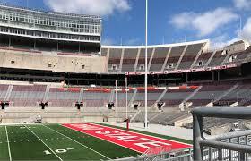 Ohio State University Horseshoe Stadium Seating Chart Methodical Ohio State University Football Stadium Seating