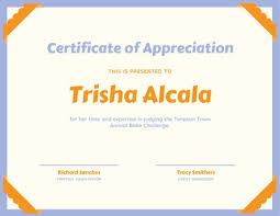 Certificate Of Appreciate Customize 75 Appreciation Certificates Templates Online Canva