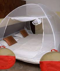 Athena Creations Double Bed Foldable Mosquito Net White ...