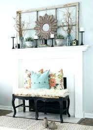 decorating fireplace mantel for spring decorating fireplace mantels decorations ideas decorate
