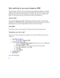 Format Of Sending Resume Through Mail It Resume Cover Letter Sample