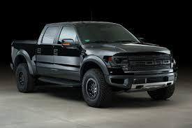 ford raptor blacked out. roush supercharged ford raptor blacked out
