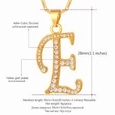 e initial necklace awesome initial e letter pendants necklaces womenmen personalized gift e initial necklace