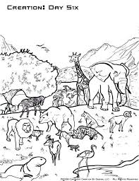 Days Of Creation Coloring Pages Lovely Creation Coloring Pages For