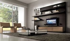 Modern Decorated Living Rooms Delectable Small Living Area With Modern Living Room Wall Units