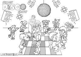 Disco Kleurplaat De Website Van Super Disco Show
