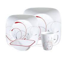 corelle dinner set ebay australia. new 16 piece square splendour dinner set corelle dinnerware sets ebay australia