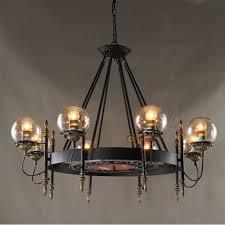 loft american industrial modo chandelier chain ceiling hanging led pendant lamp