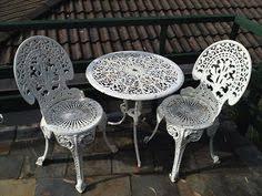 White Wrought Iron Garden Furniture Wrought Iron Garden Seat White