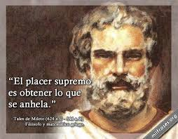 Tales de Mileto, el placer supremo | milfrases.org | Painting, Historical  figures, Poster
