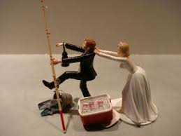 fishing wedding cake topper. fishing cake toppers wedding - google search topper