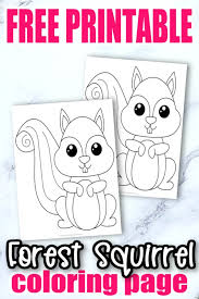 We have hundreds of kids craft ideas, kids worksheets, printable activities for kids and more. Free Printable Woodland Animal Coloring Pages Simple Mom Project