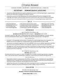 Secretary Resume Objective Examples Resume Secretary Resume Objective Examples 14