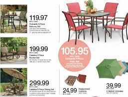 expired kroger spring patio furniture