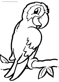 Free Animal Coloring Pages For Toddlers Zoo Animals Printable