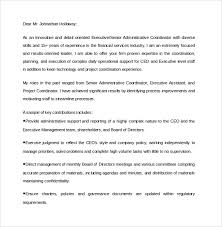 executive assistant cover letters sample executive assistant cover letter 9 download free