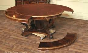 mahogany round dining table with leaves extra large round mahogany dining table with perimeter leaves round