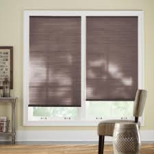 home decorators collection 43 in w x 72 in l chocolate cordless