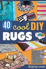 diy rugs ideas for an easy handmade rug for living room bedroom kitchen mat and area rugs you can make stencil art tutorial painting tips