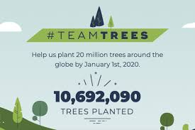 Logan Paul Subscriber Count Chart Youtubers Raise 10 Million For Tree Charity And Bring In