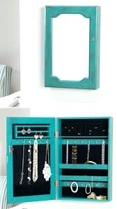 jewelry armoire mirror wall mount ed photo frames mounted68
