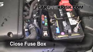 replace a fuse nissan maxima nissan maxima se 6 replace cover secure the cover and test component