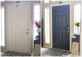 white interior front door. White Interior Front Door And Entry