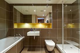 simple bathrooms designs. Amazing Brown Designs With Blue And Gold Details Modern Bathroom Simple Bathrooms