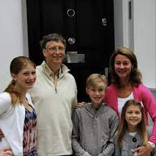 Interesting Facts About Bill Gates Children | Bill gates, Bill gates  family, American children