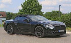 2018 tesla changes. perfect 2018 2019 bentley continental gtc spied testing with sporty styling with  gt to 2018 tesla changes