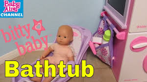 american girl bitty baby doll bathtub unboxing an please help me bitty baby channel