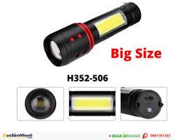 Đèn Pin Siêu Sáng Chống Nước 3 Chế Độ Loại Lớn H352-506/H3526, Mới 100%,  Giá: 85.000 - 0901181365, Cần bán/Dịch vụ , id-490d0000