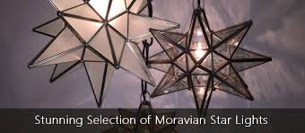 moravian star lights and drop lights