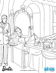 Small Picture Keira disguised as Princess Tori coloring page More Barbie the