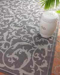 trellis work indooroutdoor rug gray outdoor rug d24