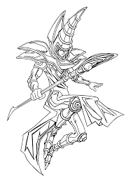 Dark magician deck profile (august 2020) yugioh! Yu Gi Oh Coloring Pages For Kids Printable Free Monster Coloring Pages Cartoon Coloring Pages Coloring Pages For Kids