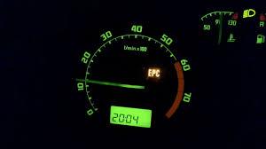 Epc Light On Car Dashboard Car Fault Code Volkswagen Epc Light
