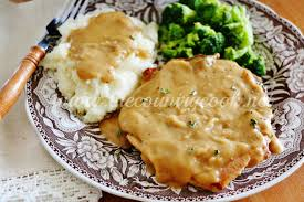 Crock Pot Smothered Pork Chops  The Country CookCountry Style Smothered Pork Chops